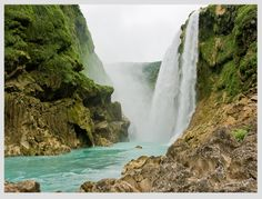 Tamul Waterfall. With 105 meters, Tamul, in San Luis Potosi, is considered the most spectacular waterfall in Mexico.