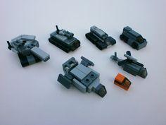 Vehicles by The Legonator Lego Spaceship, Lego Robot, Lego Mecha, Lego War, Lego Bionicle, Lego Duplo, Legos, Nave Lego, Easy Lego Creations