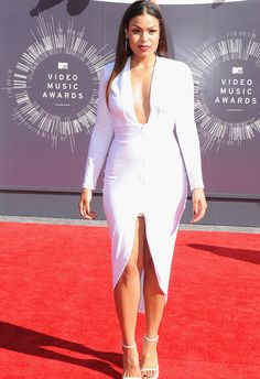 Jordin Sparks in Simply Intricate at the 2104 VMA Awards | blog.theknot.com