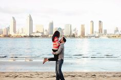 Dear Darling Photography  | San Diego, Los Angeles Wedding Photographer, Orange County Wedding Photographer Downtown San Diego Engagement Shoot pose