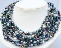 Hey, I found this really awesome Etsy listing at https://www.etsy.com/listing/230836947/beaded-necklace-pearl-and-crystal