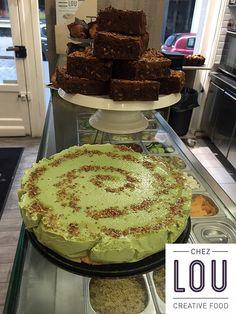 Cheesecake pistaches et noisettes caramélisées, par Lou