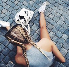 Summer Braids :: Beach Hair :: Natural Waves :: Long + Blonde  :: Messy Manes :: Free your Wild :: See more Untamed DIY Simple + Easy Hairstyle Tutorials + Inspiration @untamedorganica
