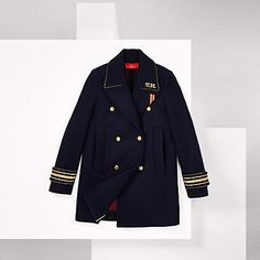 Tommy Hilfiger women's jacket. Hilfiger Collection, Fall 2016. As seen on the…