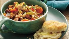 Every spoonful of this slow-cooker soup is loaded with ham, beans and vegetables.