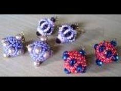 Beaded sultan earrings... - YouTube