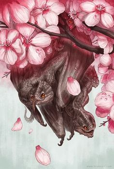 New piece: Spring Brood. This piece will be available as a very limited edition hand-embellished print. More info soon! :) http://ift.tt/1mF...