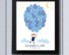 Bild-Unterschriften Geburt Ballon Modell Baby Windel / Pdf / Baby Dusche Taufe Kind Bild Mädchen Speicher Spuren Baum Geburtstag eingeladen