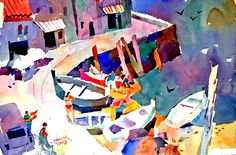 Frank Webb Watercolor Workshop in Cinque Terre and Lucca, Italy