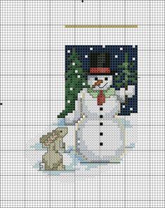Pokemon Cross Stitch, Cross Stitch Owl, Cross Stitch Charts, Cross Stitching, Cross Stitch Embroidery, Cross Stitch Patterns, Cross Stitch Christmas Stockings, Cross Stitch Stocking, Christmas Cross