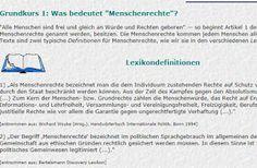 Feldkirch, Civil Society, Human Rights, Teaching Resources, Politics, Education