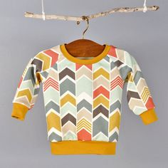 Raglan sweatshirt pdf sewing pattern // photo tutorial //