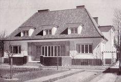 Landhaus in Königsberg von Architekt Kurt Frick 1927