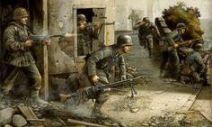 Las Cosicas del Panzer — Panzergrenadier en la batalla de normandia.