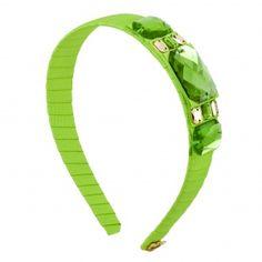 Headband by Sereni & Shentel. Blair in Apple Green. Made in Borneo. Shop here: http://sereniandshentel.com/blair/1828-blair-apple-green.html $43