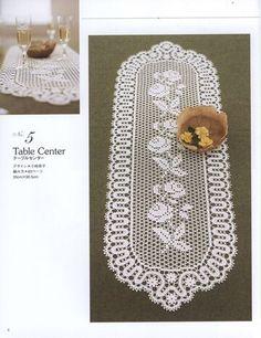Japanese crochet doily patterns Housewarming home decor ebook Crochet Doily Patterns, Crochet Doilies, Crochet Lace, Filet Crochet, Easy Crochet, Modern Table Runners, Japanese Crochet, Japanese Patterns, Lace Doilies