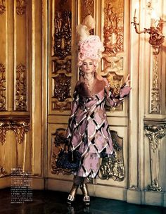 All the Riches a Girl Can Have: Ymre Stiekema as Marie Antoinette by Giampaolo Sgura for Vogue Nippon