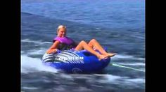 """http://www.parafunalia.com/one-person-tube.html It's all about """"numero uno"""" this time! Show off to your friends and family by hitting wakes and flying solo on a single person towable. A one-person tube allows for faster speeds and higher air…everything you're looking for, for a fantastic summer! If you are the owner of a small boat, or don't have adequate storage space for larger tubes, then a single person tube is the way to go."""