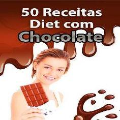 livros e ebooks digitais: 50 Receitas Diet Com Chocolate