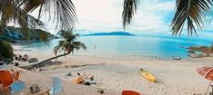 Live Streaming of the sandy beach is on Thongson Bay on Ko Samui Island, Gulf of Thailand