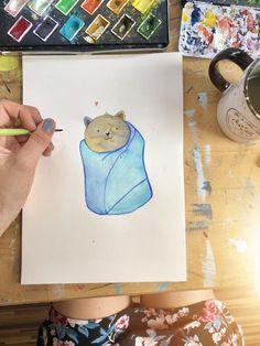 Watercolor, Draw