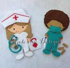 Doctor and Nurse Accessory Set