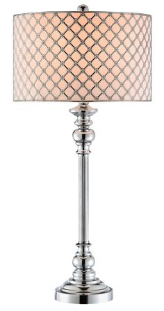 Sindri Table Lamp in Chrome | Stein World Furniture | Home Gallery Stores