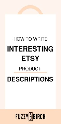 If you think there's a formula for Etsy success, you're definitely not wrong. The problem with a formula is that sometimes, one missing piece can cause the whole house to come crashing down. Product descriptions are a huge part of scaling your Etsy shop - Master them with this awesome resource! #sellingonetsy #etsyshop #increaseetsysales #etsydescriptions