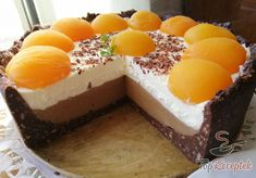 Diet Cake, Hungarian Recipes, Desert Recipes, Cake Recipes, Bakery, Cheesecake, Deserts, Food And Drink, Cooking Recipes