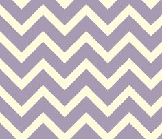 antique lilac chevron (large) fabric by amybethunephotography on Spoonflower - custom fabric