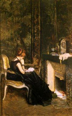 Giuseppe De Nittis - La lettera