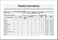 Warehouse Inventory List Download At HttpWwwTemplateinnCom
