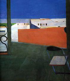 Window (1967) & Yellow Porch (1961), Richard Diebenkorn