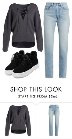 """Untitled #563"" by foxessx ❤ liked on Polyvore featuring Vince and Yves Saint Laurent"