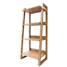 Bamboo Four Shelves - 125cm