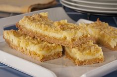 Lemon Glacier Bars |
