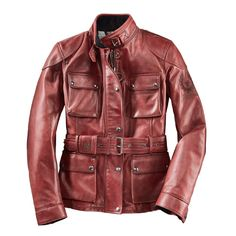 Belstaff Damenjacke Classic Tourist Woman Red