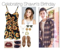 """""""Celebrating Shawn's Birthday"""" by onedirection-5sos-preferences122 ❤ liked on Polyvore featuring Billabong, Wet Seal, Karen Kane and Ray-Ban"""