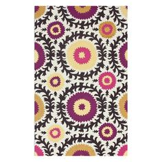 Laila 7'6x9'6 Multi now featured on Fab. by Rug Collective