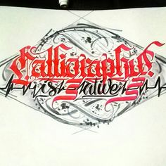 Calligraphy is alive // Calligraphy by @alpha_bet_assassin