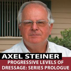 """In """"Progressive Levels Of Dressage: Series Prologue"""" This first of a new video series by Axel Steiner, FEI 5* Dressage Judge and clinician, examines the history of dressage and the different requirements for each level of competitive dressage from the National to International levels.  http://www.equestriancoach.com/content/progressive-levels-dressage-series-prologue"""