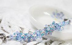Exquisite Ice Crystals Bracelet