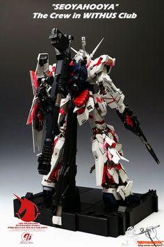 GUNDAM GUY: PG 1/60 Unicorn Gundam + LED Set - Customized Build