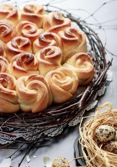 Húsvéti rózsakalács recept