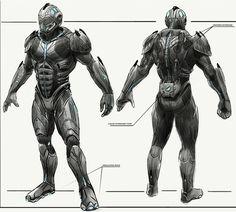 Sci-Fi armor inspiration and ideas
