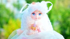 Christmas angel - Fairy doll - OOAK art doll - angel tree topper - Winter fairy - Gift for Christmas for kids magical fairies decoration