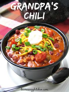 This easy, traditional chili converted me into a chili lover.
