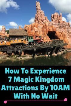 We've been to Walt Disney World many times and we have early mornings at the Magic Kingdom down to a science. Here is our strategy for How To Experience 7 Magic Kingdom Attractions By 10 AM With No Wait