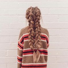 """142.6k Likes, 699 Comments - Urban Outfitters (@urbanoutfitters) on Instagram: """"This is the best sweater ever—but let's be honest, we're all looking at those braids.…"""""""