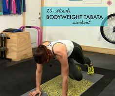 20 MINUTE TABATA WORKOUT #TABATA #HIIT #HIGHINTENSITY #WORKOUTS #FITNESS #PYBCYE #NEWYEARNEWYOU #RESOLUTIONS